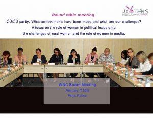 WNC Board Meeting February 17, 2018